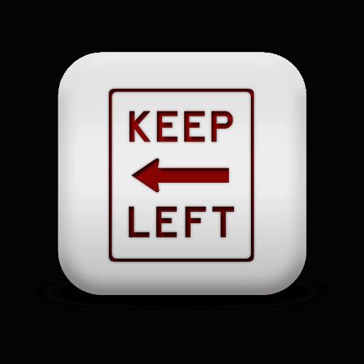 PMT Icon Keep Left