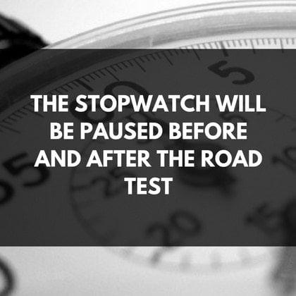K53 Scoring Method Stopwatch