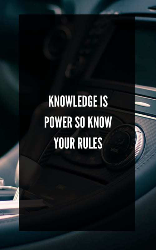 SA Rules Of The Road Knowledge