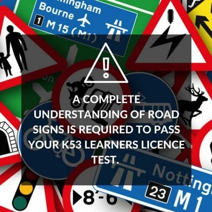 K53 Test Road Signs